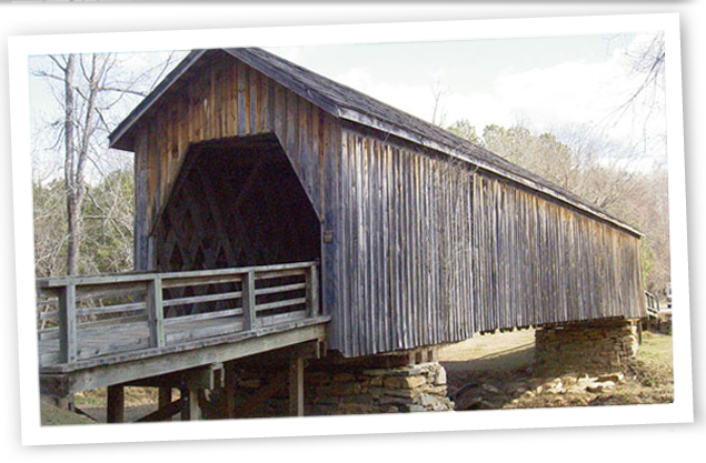 ... while preserving things from times gone by. There are many interesting things to see in Upson County. This covered bridge is one of the last of its kind!